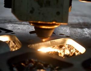Лазерная резка стали
